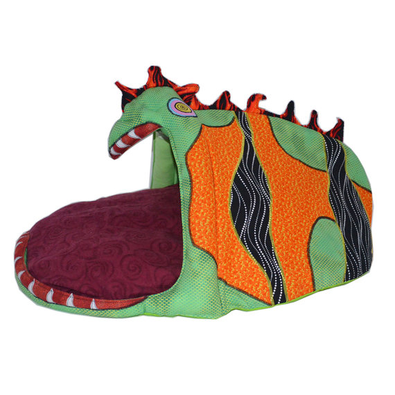 Cute critter dog bed